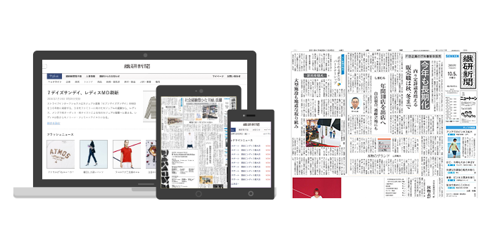 Eyecatch mockup newspapers set