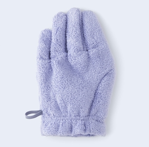 Medium hairdryingglove lavender