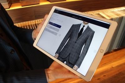 Medium suit order