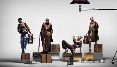 Medium burberry debuts monogram collection through a campaign starring gigi hadid c courtesy of burberry   nick knight