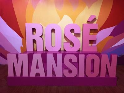 Medium rose mansion