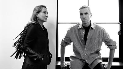 Medium prada announces co creative directors miuccia prada raf simons