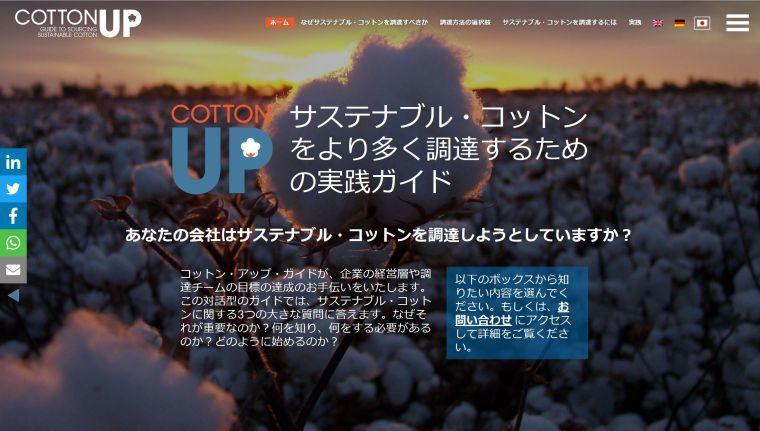 「コットン・アップ・ガイド」日本版