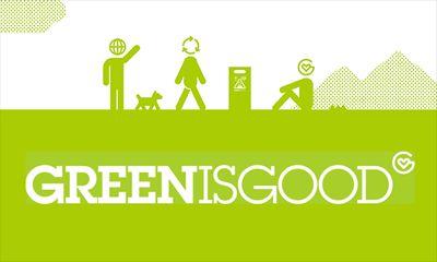緑の地球を守るため、ゴールドウインがGREEN IS GOODを推進