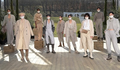 Medium brunello cucinelli fw 21 show in solomeo  2