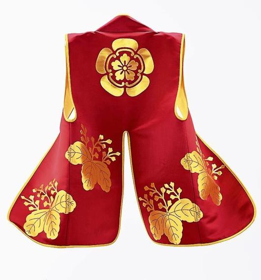 外部企業4社と大阪城天守閣の協力を得て再現した陣羽織