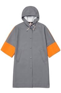Medium stutterheim marni woman volumecoat  greyorangewhite product front