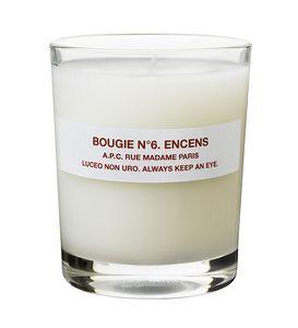 Medium a.p.c. candle encens rgb
